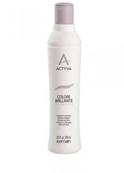 Kemon Colore Brillante Shampoo Шампунь для защиты цвета и придания блеска окрашенным волосам 250 мл. - купить, цена со скидкой