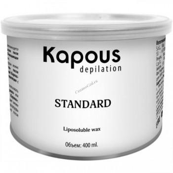 Kapous  Жирорастворимый воск желтый натуральный, 400 мл. - купить, цена со скидкой