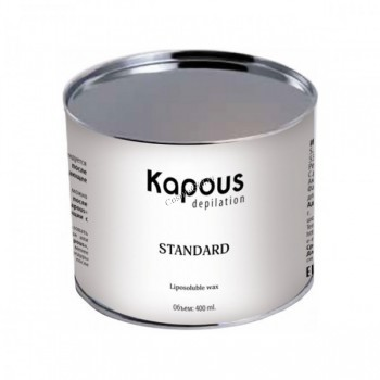 Kapous Горячий воск зеленый с хлорофиллом в банке, 400 мл. - купить, цена со скидкой