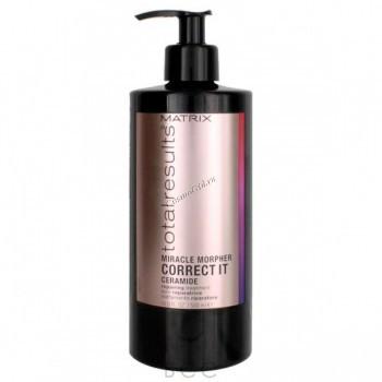 Matrix total results miracle morpher correct it ceramide (Молекулярный концентрат для восстановления волос), 500мл. - купить, цена со скидкой