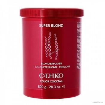 Cehko Блондирующий порошок голубой, 500 гр. - купить, цена со скидкой