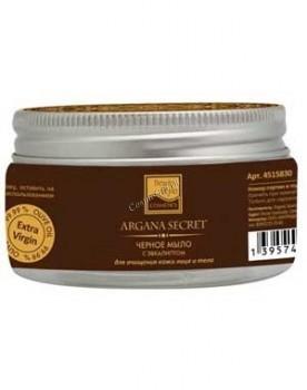Beauty Style Марокканское черное мыло с эвкалиптом, 100 гр - купить, цена со скидкой