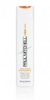 Paul Mitchell Color protect daily conditioner (Кондиционер для защиты цвета окрашенных волос) - купить, цена со скидкой