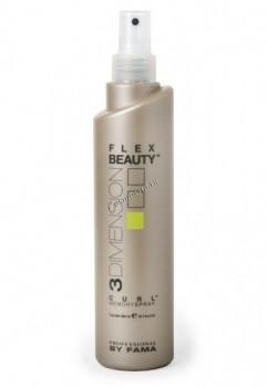 By Fama Flex beauty curl memory spray (Спрей с эффектом памяти для вьющихся волос), 300 мл. - купить, цена со скидкой