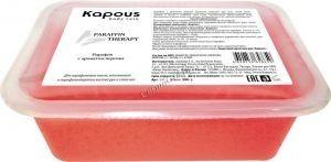 Kapous  Парафин с ароматом персика в брикете, 2*500 гр. - купить, цена со скидкой