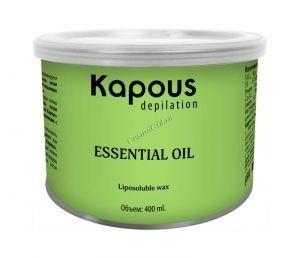 Kapous Жирорастворимый воск с эфирным маслом розмарина в банке, 800мл. - купить, цена со скидкой