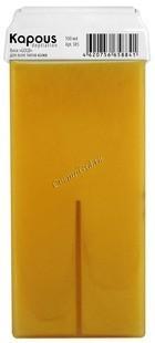 Kapous Жирорастворимый воск «Gold»  в картридже, 100 мл. - купить, цена со скидкой