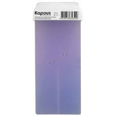 Kapous  Гелевый воск с ароматом лаванды в картридже, 100 мл. - купить, цена со скидкой