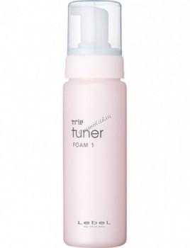 Lebel Trie tuner foam 1 (Мусс для нормальных, поврежденных и жестких волос), 200 мл. - купить, цена со скидкой