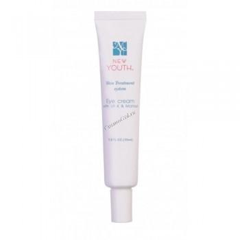 New Youth Eye cream with vit K & matrixyl (Крем для век с витамином К и матриксилом), 30 мл - купить, цена со скидкой