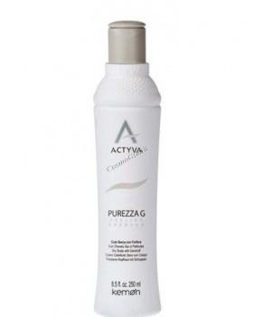 Kemon Actyva Purezza G shampoo (Шампунь для жирной кожи головы с перхотью) - купить, цена со скидкой