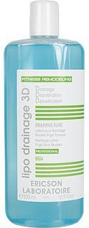 Ericson laboratoire Draining fluid (Дренажный флюид лосьон для бандажного обертывания), 500 мл - купить, цена со скидкой