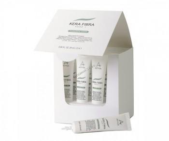 Kemon Actyva kera fibra fase 1 (Лифтинг для восстановления хрупких  поврежденных волос), 25 мл - купить, цена со скидкой