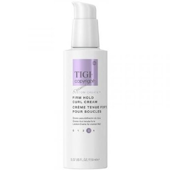 Tigi Copyright Custom Create Firm Hold Curl Cream (Крем, подчеркивающий кудри сильной фиксации), 150 мл - купить, цена со скидкой
