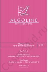 Algoline  Маска-мусс для тонкой и нежной кожи, 3*30 гр - купить, цена со скидкой