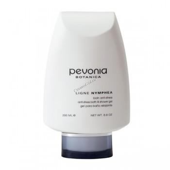 """Pevonia Nymphea essential oils bath & shower gel """"Anti-Stress"""" (Гель для ванны или душа с эфирными маслами """"Анти-стресс""""), 200 мл - купить, цена со скидкой"""