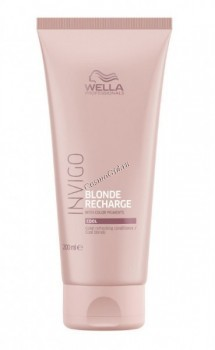 Wella Invigo Blonde Recharge Conditioner (Бальзам-уход оттеночный для холодных светлых оттенков), 200 мл - купить, цена со скидкой