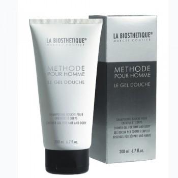 La biosthetique skin care methode pour homme le gel douche (Гель-шампунь для душа с увлажняющим комплексом), 200 мл - купить, цена со скидкой