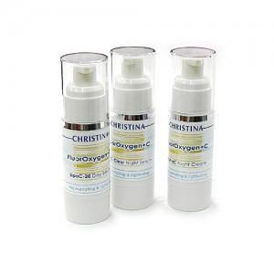 Christina fluoroxygen+C retail kit (Набор для домашнего использования), 3 препарата. - купить, цена со скидкой