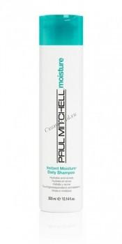 Paul Mitchell Instant moisture daily shampoo (Увлажняющий шампунь для сухих и нормальных волос) - купить, цена со скидкой
