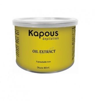 Kapous   Жирорастворимый воск с маслом  алоэ в банке, 400 мл. - купить, цена со скидкой
