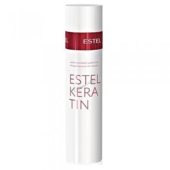 Estel De Luxe Keratin Кератиновый шампунь для волос - купить, цена со скидкой