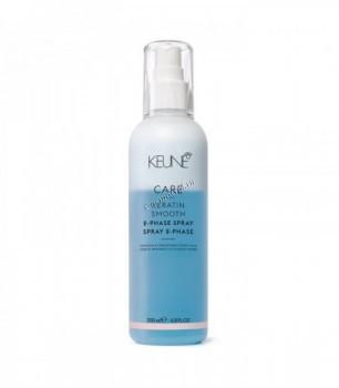 Keune Care Keratin Smooth 2 Phase Spray (Двухфазный кондиционер-спрей «Кератиновый комплекс»), 200 мл - купить, цена со скидкой