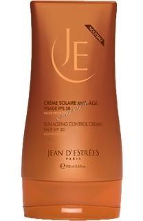 Jean d'Estrees Creme solaire anti-age spf 30 (Солнцезащитный крем против морщин spf 30), 100 мл  - купить, цена со скидкой