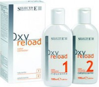 Selective Professional oxyreload (Комплект препаратов для снятия косметического цвета) 2шт по 100 мл - купить, цена со скидкой