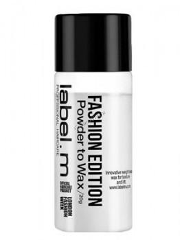 Label.m Fashion Edition Powder to Wax (Пудра-воск), 20 г - купить, цена со скидкой