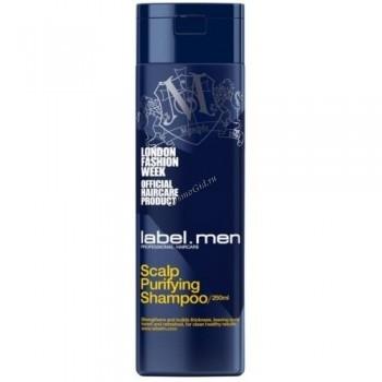Label.men Scalp purifying shampoo (Шампунь для очищения кожи головы) - купить, цена со скидкой