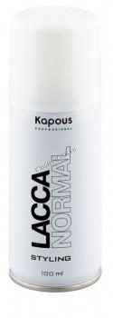 Kapous   Лак аэрозольный для волос нормальной фиксации, 100 мл. - купить, цена со скидкой