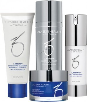 ZO Skin Health Набор средств 1: программа ежедневного ухода, 4 препарата. - купить, цена со скидкой