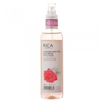 Rica Лосьон с экстрактом розы последепиляционный, в спрее 250 мл - купить, цена со скидкой