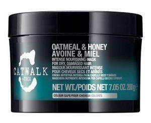 """Tigi Catwalk Oatmeal & honey  (Интенсивная маска для питания сухих и ломких волос """"Овсянка и мед""""), 200 мл - купить, цена со скидкой"""