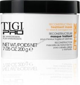 """Tigi Pro Reconstructing treatment mask (Восстанавливающая маска для поврежденных волос """"Восстановление""""), 200 мл. - купить, цена со скидкой"""