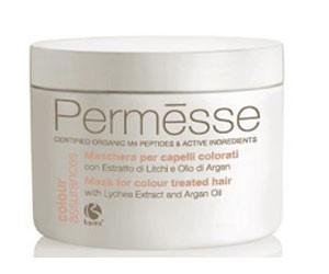 Barex permesse coloured hair mask (Маска для окрашенных волос с экстрактом личи и маслом арганы) - купить, цена со скидкой