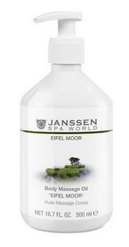 Janssen Body massage oil «Eifel moor» (Массажное масло «Эйфель мурr»), 500 мл - купить, цена со скидкой