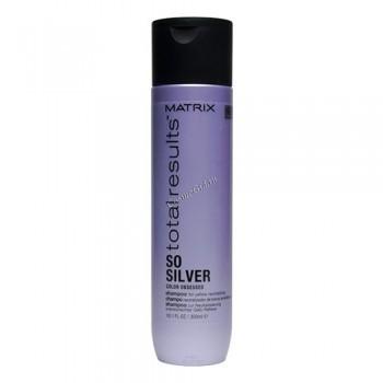 Matrix Total results color obsessed so silver shampoo (Шампунь для светлых и седых волос) - купить, цена со скидкой