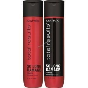 Matrix Total results ( Набор для ломких и поврежденных волос), 2 средства - купить, цена со скидкой