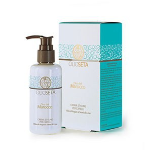 Barex Styling cream for hair (Моделирующее молочко с маслом арганы и маслом семян льна) - купить, цена со скидкой