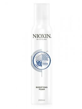 Nioxin bodifying foam (Мусс подвижной фиксации), 200 мл. - купить, цена со скидкой