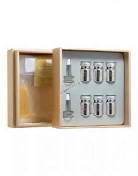 Beauty Style Argan elixir kit: rejuvenating gel alginate mask + serum (Набор «Секрет арганы»), 2 препарата - купить, цена со скидкой