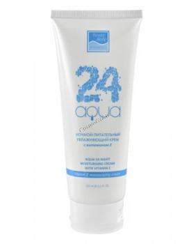 Beauty Style Night moisturising cream with vitamin E (Ночной питательный увлажняющий крем с витамином Е «Аква 24») - купить, цена со скидкой