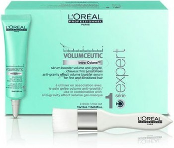 L'Oreal Professionnel Volumceutic serum (Сыворотка для придания объема Волюмсьютик), 15 шт по 15 мл. - купить, цена со скидкой
