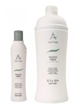 Kemon Nuova Fibra Shampoo  Восстанавливающий шампунь для ослабленных, поврежденных и хрупких волос 1500 мл. - купить, цена со скидкой