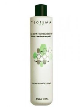 Teotema Cleaning shampoo with keratin (Очищающий шампунь с кератином), 500 мл - купить, цена со скидкой