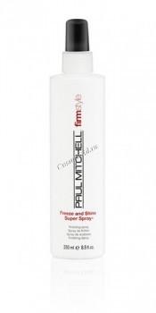 Paul Mitchell Freeze and shine super spray (Спрей для волос cильной фиксации) - купить, цена со скидкой