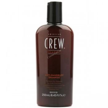 American crew Anti-dandruff+sebum control shampoo (Шампунь против перхоти), 250 мл. - купить, цена со скидкой