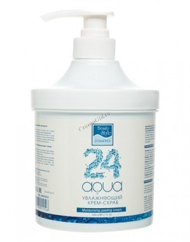 Beauty Style Moisturizing peeling cream «Aqua 24» (Увлажняющий крем-пилинг «Аква 24» - купить, цена со скидкой